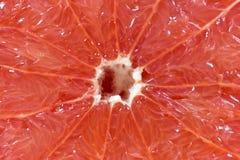 zdrowa żywność w plastrach grejpfruta zdjęcia stock