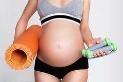 zdrowa ciąża Zdjęcie Stock