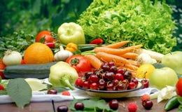 Zdrowa dieta dla twój zdrowego, dla zdrowego życia Zdjęcia Royalty Free