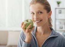Zdrowa dieta i sprawność fizyczna Zdjęcie Royalty Free