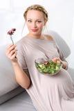 Zdrowa dieta matka Zdjęcia Royalty Free