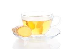 Zdrowa imbirowa herbata. fotografia royalty free