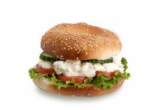 zdrowa kanapka Zdjęcie Royalty Free