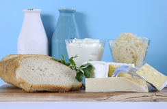 Zdrowa Karmowa dieta: Probiotic jedzenie Zdjęcie Royalty Free