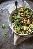 Zdrowa quinoa i kalafioru sałatka Zdjęcie Royalty Free
