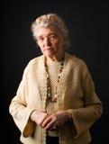 Zdrowa stara kobieta Zdjęcie Stock