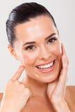 Zdrowa twarzy skóra Zdjęcia Royalty Free