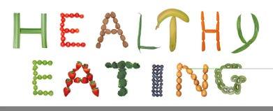 zdrowe jeść Zdjęcie Royalty Free