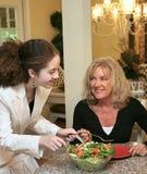 zdrowe jeść razem Zdjęcia Royalty Free