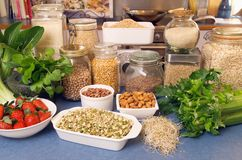 zdrowe jedzenie Zdjęcie Stock