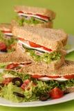 zdrowe kanapki Zdjęcia Stock