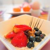 zdrowe śniadanie Fotografia Royalty Free