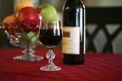 zdrowe serce wina owocowego Zdjęcia Royalty Free