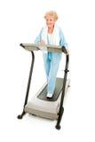 zdrowe starsze pracy zdrowy Zdjęcia Stock