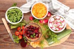 zdrowe warzywa sałatkowy Zdjęcia Royalty Free