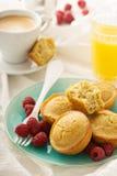 Zdrowego glutenu quinoa bezpłatni muffins Obraz Royalty Free