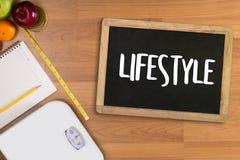 Zdrowego stylu życia webpage onlinego chłodno łasowania zdrowy jedzenie Inwestuje Obrazy Royalty Free