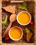 Zdrowej diety jarski smoothie w kubkach Obrazy Royalty Free