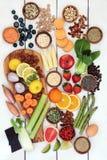 Zdrowej diety jedzenie dla ciężar straty Zdjęcia Stock