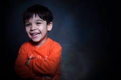 zdrowi chłopiec potomstwa Zdjęcia Royalty Free