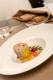 zdrowi karmowi foie gras obraz stock