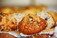 zdrowi muffins Fotografia Royalty Free