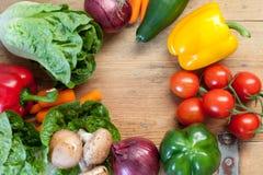 Zdrowi organicznie warzywa Obraz Royalty Free