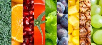 zdrowi owoc warzywa Zdjęcie Stock