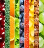 zdrowi owoc warzywa Fotografia Stock