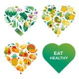 zdrowi serca ilustracji
