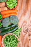 Zdrowi warzywa Fotografia Stock