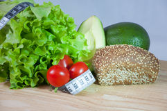 Zdrowi warzywa - zdrowy jedzenie Zdjęcie Royalty Free