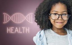 Zdrowia DNA struktury symbolu pojęcie Fotografia Royalty Free
