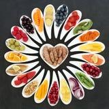 Zdrowia jedzenia odżywianie zdjęcie stock