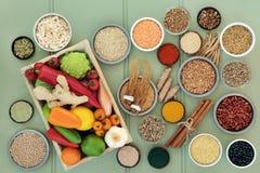 Zdrowia jedzenie dla Wątrobowego Detox zdjęcia royalty free