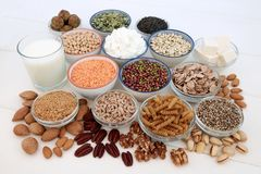 Zdrowia jedzenie dla weganinów zdjęcie royalty free