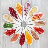 Zdrowia jedzenie dla Zdrowego serca Obraz Royalty Free