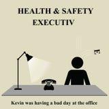 zdrowia wykonawczy bezpieczeństwo ilustracji