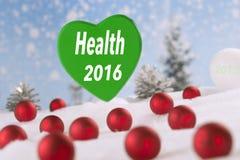 Zdrowie 2016 Obrazy Stock