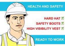 Zdrowie i bezpieczeństwo Zdjęcia Stock