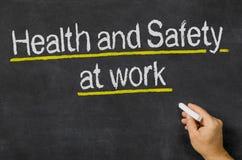 Zdrowie I Bezpieczeństwo przy pracą Fotografia Stock