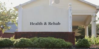 Zdrowie i centrum rehabilitacji Fotografia Royalty Free