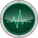 zdrowie monitor Obraz Stock