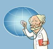 Zdrowie planeta ilustracja wektor