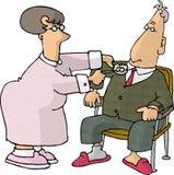 zdrowie w domach royalty ilustracja