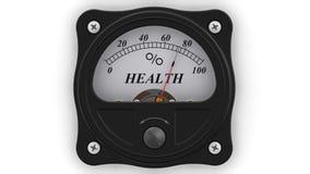 Zdrowie wskaźnik w akcji