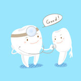 Zdrowie zębu pojęcie ilustracji