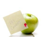 Zdrowotny Apple obraz royalty free
