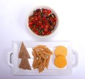 Zdrowy łasowanie weganinu układ obrazy stock