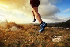 Zdrowy śladu bieg